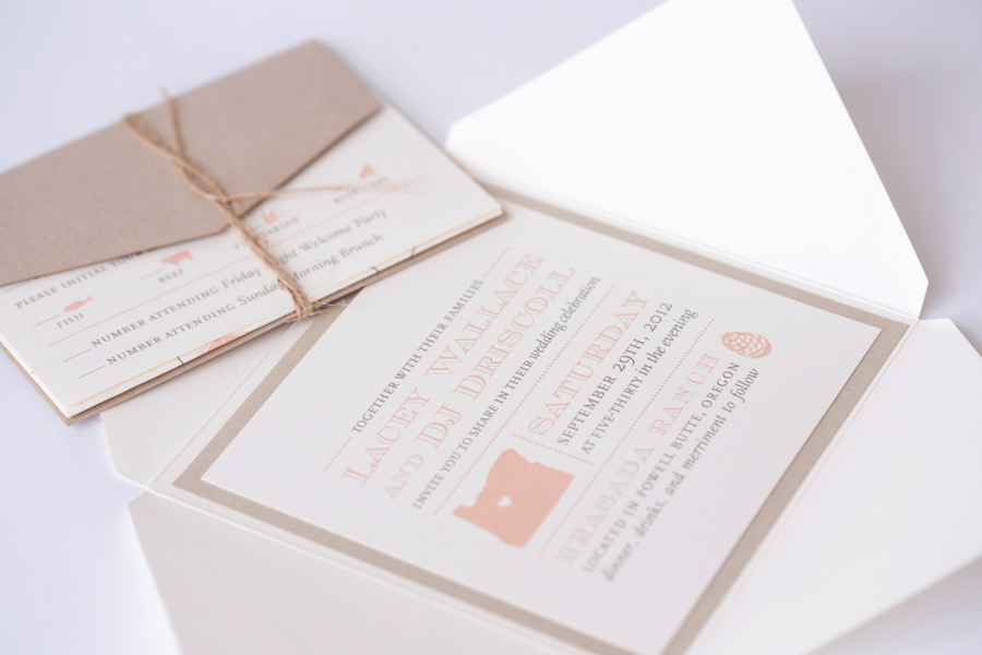Portland wedding invitations