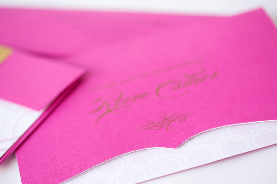 Bat Mitzvah Invitation Portland Oregon Paper Bloom